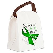 My Niece is a BMT Survivor.png Canvas Lunch Bag