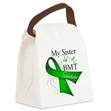 My Sister is a BMT Survivor.png Canvas Lunch Bag