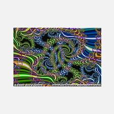 Fractal C~20 Rectangle Magnet