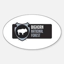 Bighorn Arrowhead Badge Decal