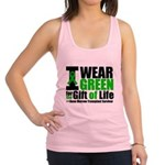 I Wear Green BMT Survivor.png Racerback Tank Top