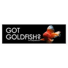 Bumper Sticker: Got Goldfish 1