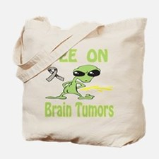 Pee on Brain Tumors Tote Bag