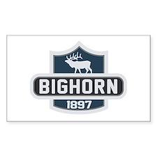 Bighorn Nature Badge Decal