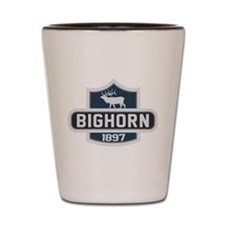 Bighorn Nature Badge Shot Glass