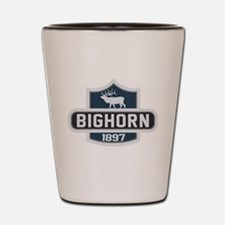 Bighorn Nature Badge Shot Glass
