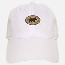 Bighorn Brown Bear Badge Baseball Baseball Cap