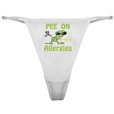 Pee on Allergies Classic Thong