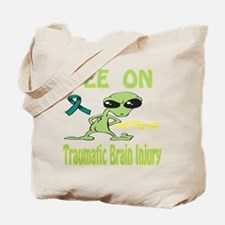 Pee on Traumatic Brain Injury Tote Bag