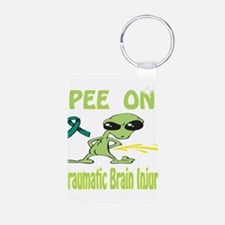 Pee on Traumatic Brain Injury Keychains