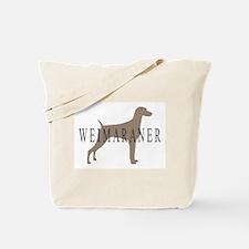 Weimaraner Greytones  Tote Bag