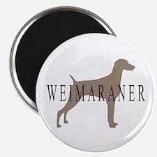 Weimaraner Greytones Magnet