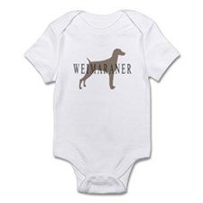 Weimaraner Greytones Infant Bodysuit