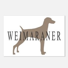 Weimaraner Greytones  Postcards (Package of 8)