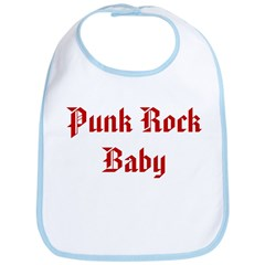 Punk Rock Baby Bib