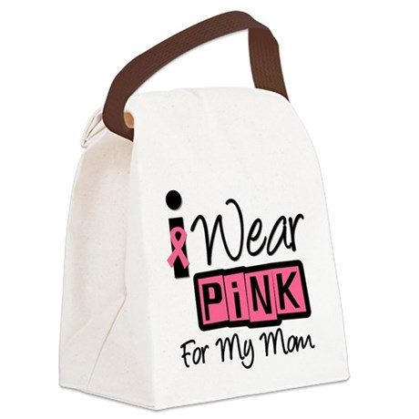 iwearpink30mom.png Canvas Lunch Bag