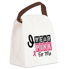 iwearpink56forme.png Canvas Lunch Bag