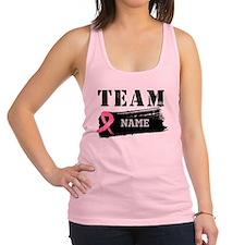 Team Breast Cancer Racerback Tank Top