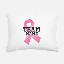 Team Name Rectangular Canvas Pillow