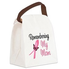 rememberingmom.png Canvas Lunch Bag