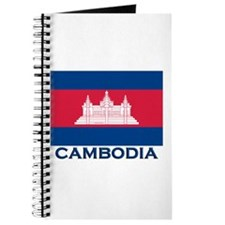 Cambodia Flag Merchandise Journal