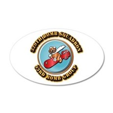 AAC - 329th Bomb Sqdn,93rd Bomb Group Wall Decal