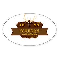 Bighorn National Park Crest Decal