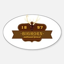 Bighorn National Park Crest Decal