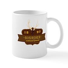 Bighorn National Park Crest Mug