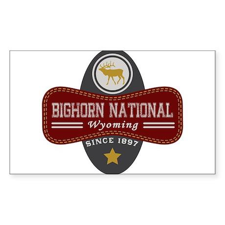 Bighorn Natural Marquis Sticker (Rectangle)