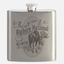 Bighorn Vintage Moose Flask
