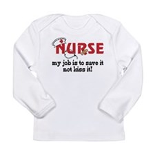 My Job Long Sleeve Infant T-Shirt