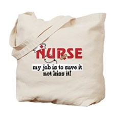 My Job Tote Bag