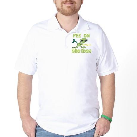 Pee on Kidney Disease Golf Shirt