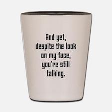 Cute Adult humor Shot Glass