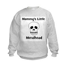 Mommy's Little Metalhead. Sweatshirt