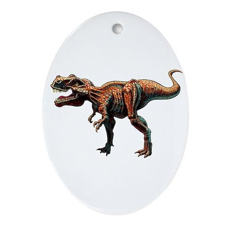 T-Rex Large.jpg Ornament (Oval)