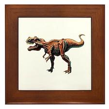 T-Rex Large.jpg Framed Tile