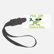 Pee on Cerebral Palsy Luggage Tag
