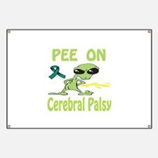 Pee on Cerebral Palsy Banner