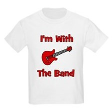 I'm With The Band. Kids T-Shirt