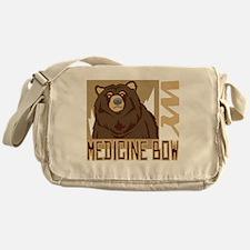 Medicine Bow Grumpy Grizzly Messenger Bag