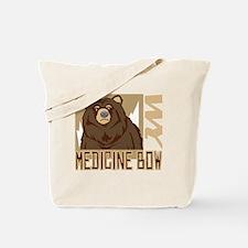 Medicine Bow Grumpy Grizzly Tote Bag