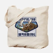 Medicine Bow Mountaintop Moose Tote Bag