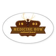 Medicine Bow National Park Crest Decal