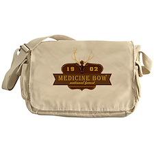 Medicine Bow National Park Crest Messenger Bag