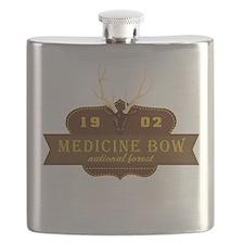 Medicine Bow National Park Crest Flask