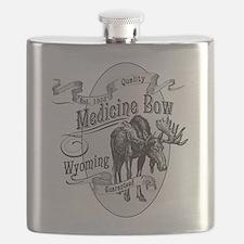 Medicine Bow Vintage Moose Flask
