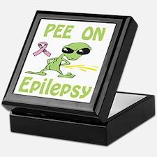 Pee on Epilepsy Keepsake Box