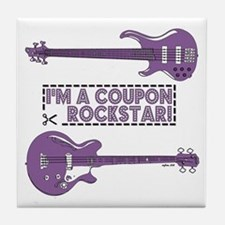 COUPON ROCKSTAR! Tile Coaster